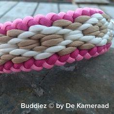 Halsband paracord met ruiteneffect