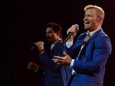 Backstreet Boys se apresentam em SP  (Foto: Flavio Moraes / G1)
