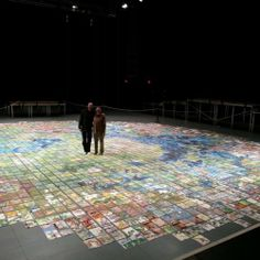 Jerry Gretzinger lives in a world of his own and he spent more than 50 years drawing the map for it! This is amazing!