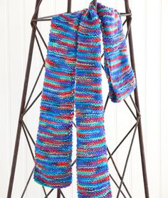 Beginner Knitting Pattern: One Warm Coat Scarf | Red Heart