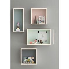 Display box in acero e betulla -mensola grigia- ferm LIVING trend-HOUSE | DESIGN SCANDINAVO PER LA TUA CASA