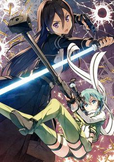 Sword Art Online 2 - Kirito & Shinon