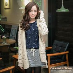 Buy 'OrangeBear – Mock Two-Piece Dress' with Free Shipping at YesStyle.ca. Browse and shop for thousands of Asian fashion items from Taiwan and more!