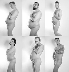 this is exactly what i see when i look at maternity pics like this.  put your clothes on ladies.  gross.