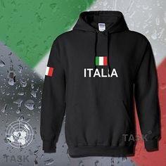 Italy Italia hoodie men sweatshirt polo sweat new hip hop streetwear footballer jersey cotton tracksuit nation Italian flag ITA