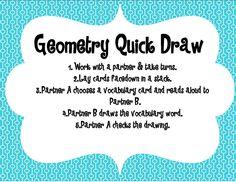 Adventures of a Third Grade Teacher: Geometry Freebie!