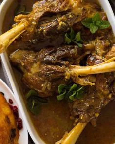 Slow cooked braised Slow cooked braised lamb shanks in a delicately spiced well seasoned broth. A beautiful traditional Persian recipe. Lamb Recipes, Meat Recipes, Cooking Recipes, Healthy Recipes, Recipies, Afghan Food Recipes, Persian Lamb Shank Recipe, Braised Lamb Shanks, Recipetin Eats