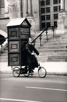 Funny Portable Catholic Church Confessional