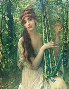 Music by Antoine Auguste Ernest Hebert #music #art