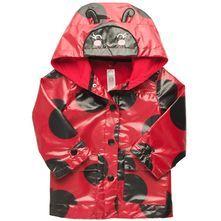 Hooded Ladybug Rain Jacket