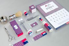 Stash - Product design - Use of colourful patterns