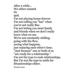 """Together or not. I hate the ""I'm kinda single, kinda taken"" type of dating. #situationships"""