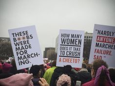 30 compelling signs from the Women's March in DC Protest Signs, March, Take That, Editorial, Random, Women, Funny, Funny Parenting, Hilarious