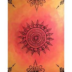 henna canvas art - Bing Images