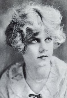 A young Jean Harlow (Harlean Carpenter) in her teens.