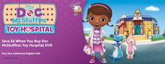 Disney Movie Rewards Canada: Save $6 When You Buy Doc McStuffins Toy Hospital DVD http://www.lavahotdeals.com/ca/cheap/disney-movie-rewards-canada-save-6-buy-doc/166884?utm_source=pinterest&utm_medium=rss&utm_campaign=at_lavahotdeals