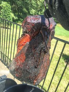BBQ Beef Brisket on the Pit Barrel Cooker is easy to do. The easiest way to smoke BBQ Brisket is on this smoker. Here's my easy method of smoking brisket on the PBC. Brisket Flat, How To Cook Brisket, Bbq Brisket, Bbq Beef, Smoked Brisket, Barrel Bbq, Barrel Smoker, Barbecue Smoker, Bbq Grill