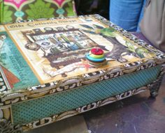 Decorated Cigar Boxes | The Queen's Inkling: the über popular decorated cigar box