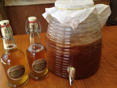 kombucha always brewing method: (cultured food life) Kombucha is growing in popularity and for good reason. The detoxifying power of kombucha is enormous. It has been recognized for its ability to counteract liver cell toxicity. As you drink kombuc...