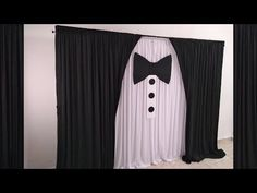 Black And White Party Decorations, Manly Party Decorations, Birthday Decorations For Men, Black Party, 50th Birthday Party Ideas For Men, Baby Boy 1st Birthday Party, 21st Party, Dad Birthday, James Bond Party