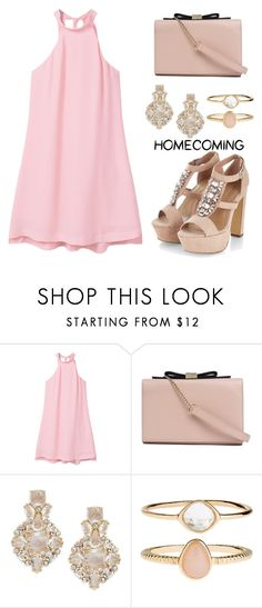 """""""Homecoming Style"""" by tania-alves ❤ liked on Polyvore featuring MANGO, See by Chloé, Kate Spade, Accessorize and Homecoming"""