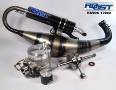 The Roost Havoc Cylinder Kit is a big bore cylinder for Piaggio engines. Fast Scooters, Motor Scooters, 50cc, Exhausted, Scooter Scooter, Kit, Sweet Dreams, Motorcycles, Style