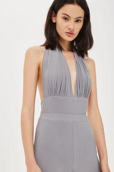 0daf9bd6e81a88   Halterneck Backless Bodysuit by Love - Clothing- Topshop Europe Hoge  Taille Rok