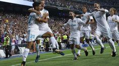 ] MADRID, Esp. * 16 de agosto de 2017. Récord Real Madrid se proclamó Campeón de la Supercopa de España tras vencer en el juego de Vuelta 2-0 al Barcelona y acumular un abultado marcador global de 5-1, pues en la Ida el cuadro blanco consiguió una victoria de 3-1 en el Camp Nou. El Santiago...