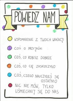 Learn Polish, Zumba Kids, Polish Language, Educational Crafts, Early Education, Home Schooling, Art Therapy, Kids And Parenting, Activities For Kids