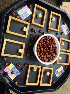 Counting Maths Eyfs, Reggio Classroom, Eyfs Activities, Nursery Activities, Autumn Activities, Numeracy, Kindergarten Math, Preschool Activities, Early Years Maths
