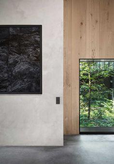 Roomed-detail muur
