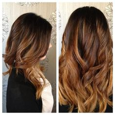 "Very soft ""sombre""-the new ombre trend for hair!  Done at Mirror Mirror Salon and  Spa. ombre #haircolortrends #sombre #haircolor"