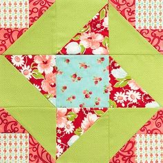 quilt block by emily