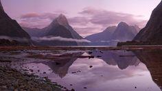 Milford Sound, New Zealand by Sergey Zalivin