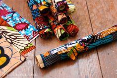 Rolo de retalhos [tecidos africanos] €6.00