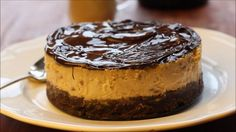 Video recipe on how to make Baked Baileys Cheesecake | http://FlavoursandFrosting.com