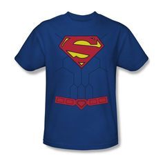 f6224626 DC COMICS SUPERMAN NEW 52 TORSO COSTUME T SHIRT SM MED LG XL 2XL 3XL #