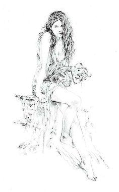 Millenium III (Sketch) - Luis Royo