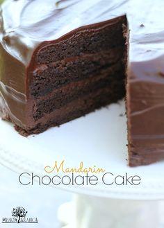 Mandarin Chocolate Cake - Mission Arabica