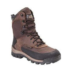Men's Rocky 8in Core Insulated Outdoor Boot WP 4753 Full Grain /Textile
