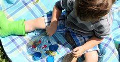 Pomysł na zabawę plastyczną z wykorzystaniem kamieni. Malowanie kamieni. Kreatywne zabawy dla dzieci na świeżym powietrzu, zabawy dla najmłodszych, zabawy dla przedszkolaków, zabawy w plenerze, zabawy na dworze