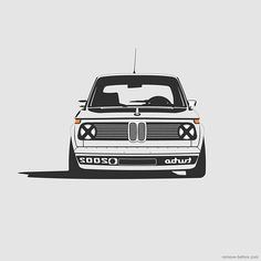 BMW 2002 Turbo on Behance