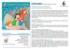 Manuel Ferrero: Anastasia La valiente. Un cuento sobre una niña con Síndrome de Down