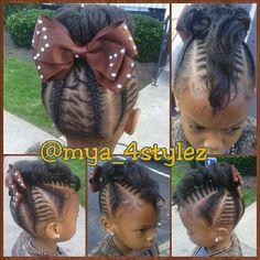 Lil girl hair styles