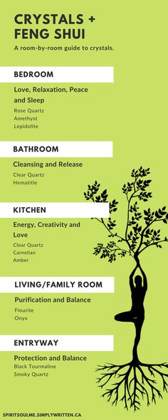 Crystals, Gemstone Jewelry, & Unique Gift IdeasA room by room guide to crystals.Use these many Feng Shui Tips to know where to hang a faceted crystal in your ho.Use these many Feng Shui Tips to Feng Shui Dicas, Consejos Feng Shui, Crystals And Gemstones, Stones And Crystals, Wicca Crystals, Decoration Ikea, Crystals In The Home, Feng Shui With Crystals, Healing Crystals