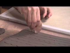 Pottery Video: Roller Stamps - A Genius Handmade Tool for Making Lines on Pottery