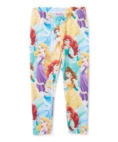Love this Disney Princess Patterned Leggings - Toddler & Girls on #zulily! #zulilyfinds
