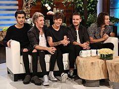 One Direction, Jimmy Page   EllenTV.com