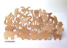 You can choose 35 different animals from this listing: 1. Elephant - 12 x 8,5 cm / 4,5 x 3,5 2. Tiger - 13 x 5,5 cm / 5 x 2,1 3. Monkey - 7 x 7 cm / 2,7 x 2,7 4. Koala - 5,5 x 6,5 cm / 2,1 x 2,5 5. Kangaroo - 7 x 8,5 cm / 2,8 x 3,3 6. Deer - 9,5 x 10,5 cm / 3,7 x 4 7. Camel - 12 x 8,4 cm / 4,5 x 3,5 8. Fox - 14,5 x 6 cm / 5,7 x 2,4 9. Bear - 7 x 8 cm / 2,7 x 3 10. Hare - 3,3 x 7 cm / 1,3 x 2,7 11. Rooster - 6 x 5 cm / 2,3 x 1,9 12. Fawn - 6,5 x 7,3 cm / 2,5 x 3 13. Wolf - 6,3 x 7 cm / 2,5 x…