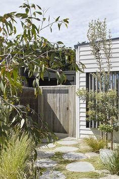 House Landscape, Beach Landscape, Landscape Design, Garden Design, Coastal Landscaping, Backyard Landscaping, Mid Century Landscaping, Australian Native Garden, Backyard Beach